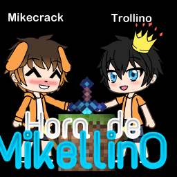 freetoedit mikellino gachalife mikecrack trollino
