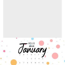 january 2019 newyear freetoedit