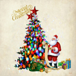 freetoedit myedit christmas christmaseve santa