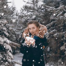 snow newyear