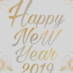 freetoedit happynewyear 2019 hny2019 newyear