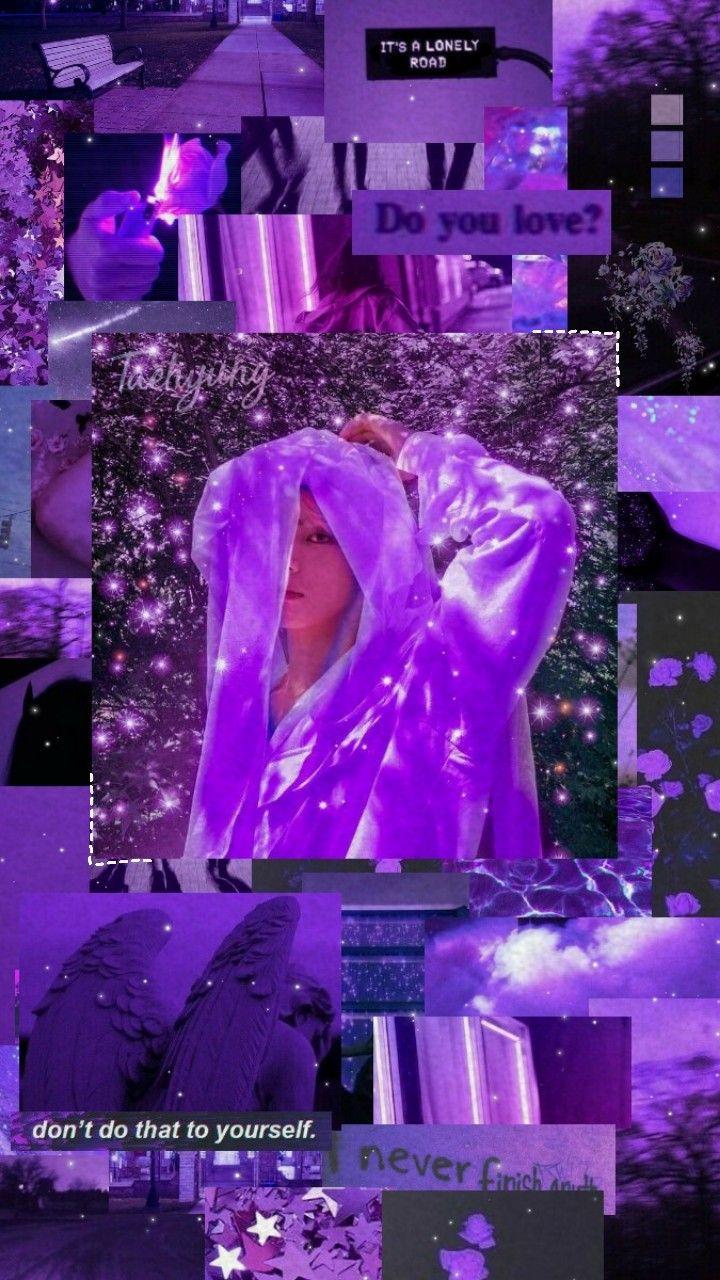 V Bts Wallpaper I Purple You V Bts