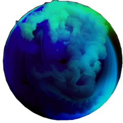 blue mavi magic büyü cember freetoedit