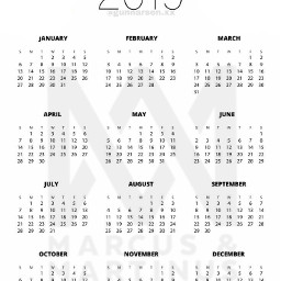 freetoedit marcusandmartinus edit calendar 2019
