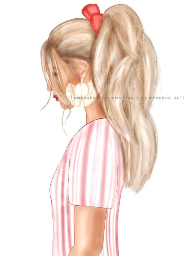 🎀 One of the most important things  about looking youthful 👱🏼♀️ is to have a modernhaircut 💇♀️ . . . @americanstyle @kirstenzellers @fashionzine @weheartit #hairstyle #haircut #hair #braids #flowers  #girls #fashionaddict #fashion #fashionblogger #stylish#رسم #رسمي #maroua_arts #sketch #sketchbook #art #arts #draw #drawing #drawings #instagood #instadaily  #instapic #bestofday #illustratenow  #كلنا_رسامين #girls #fashiongram  #instalike #weheartit  #tumblrgirl