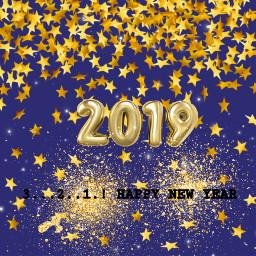 2019 happynewyear gold midnightblue