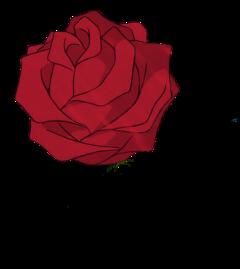 rose red drawing freetoedit