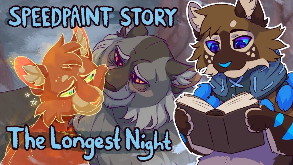 Go check out my speedpaint of The Longest Night, and