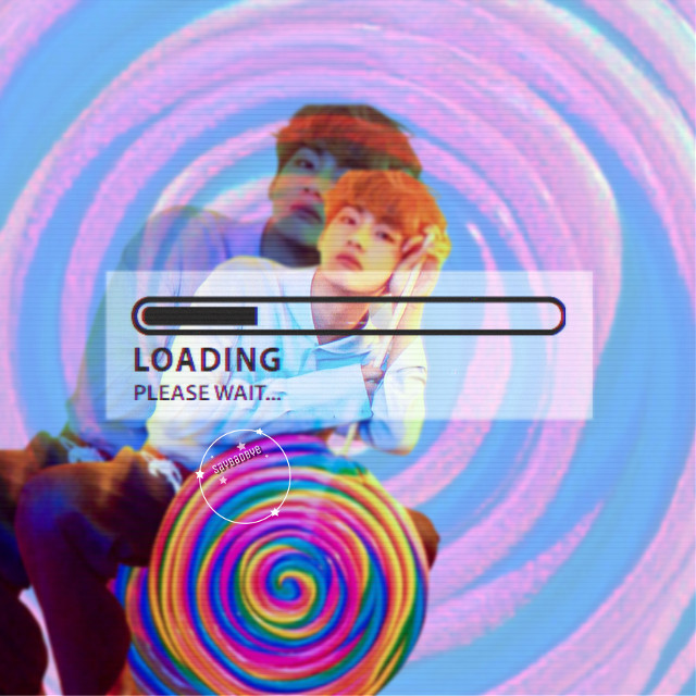 ❁ edit loading... • lollipop! { bts requests are always open } ✧credits✧   ◌ loading bar from @/ pathy61    ◌ tae from @/ jenniepink_edits  ↳ tags↴ #freetoedit #bts #bangtanboys #beyondthescene #kimtaehyung #taehyung