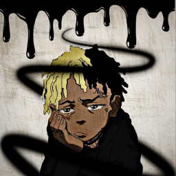 freetoedit sad cartoon xxxtentacion ripxxxtentacion