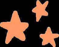 orange stars orangestars freetoedit