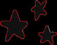 black stars blackstars freetoedit