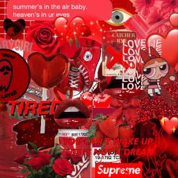 freebackground aesthetic red redaesthetic background freetoedit