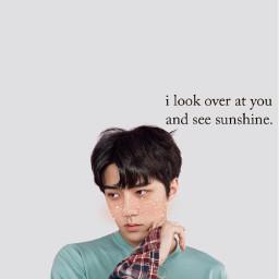 exo sehun sehunwallpaper wallpaperkpop kpop freetoedit