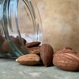 almonds photography jar masonjar nuts freetoedit