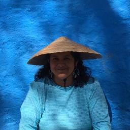 azul sombreros