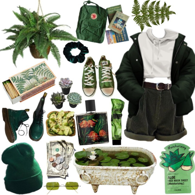 #freetoedit #moodboard #polyvore #green #superimpose #cute #plants #niche #nichmeme #selfcare #casual #happy #aesthetic #moodboards #clothes #png #pngs #stylish