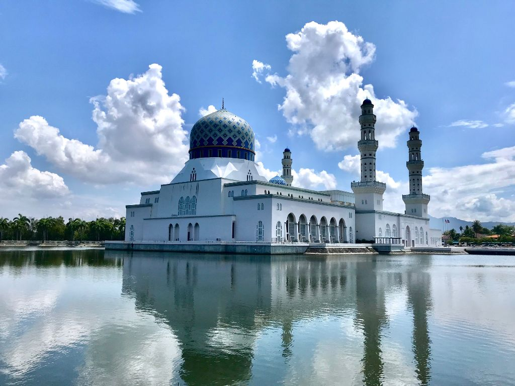 #mosque #reflection #summer#photography