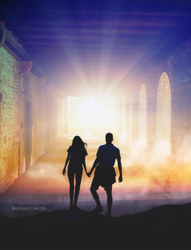 #freetoedit #light #romantic #perspective #sun #clouds #picsart @picsart