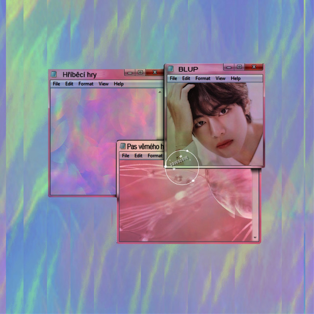❁ tae for @mgnvibhute9   • love these colors  { bts requests are always open }  ✧credits✧    ◌ windows from @/ stayrose     ◌ tae from @/ mgnvibhute9   ↳ tags↴  #freetoedit #bts #kimtaehyung #beyondthescene #bangtanboys #taehyung