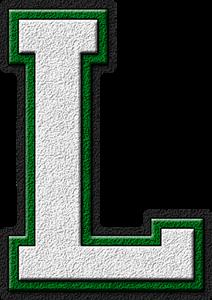 letter alphabet college patch patches
