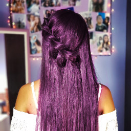 colourfulhair purple
