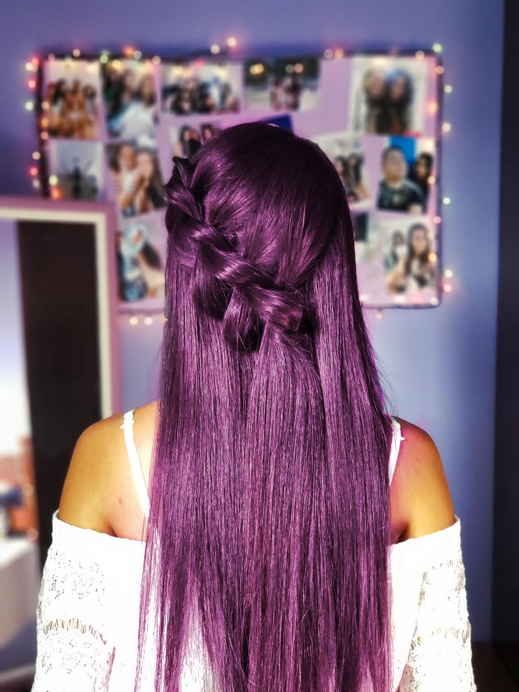 #colourfulhair #purple