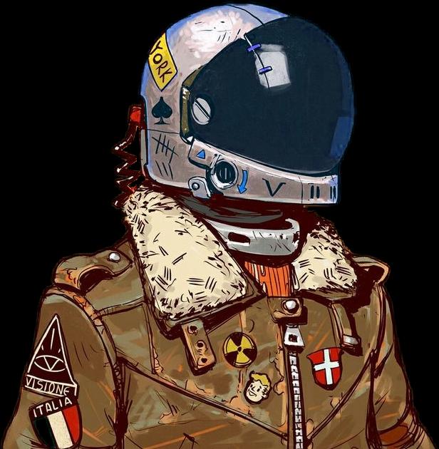Top 9 Best Derpy Animal Stickers 2019: Astronauta Moda Casco Dibujo Tumblr Sticker