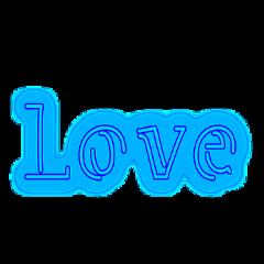 love neon neonlove ftestickers valentinesday ftelightblue freetoedit