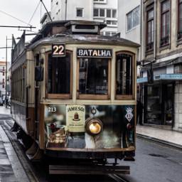 tram travelscenes travel streetphotography moody freetoedit