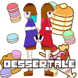 freetoedit dessertale undertaleau