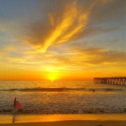 freetoedit myoriginalphoto sunset surflife beach pcthebestplace
