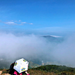 freetoedit montain top seaview landscape pcthebestplace
