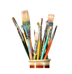 paintbrushes art pngs png lovely