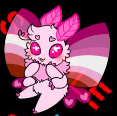 lesbian moth