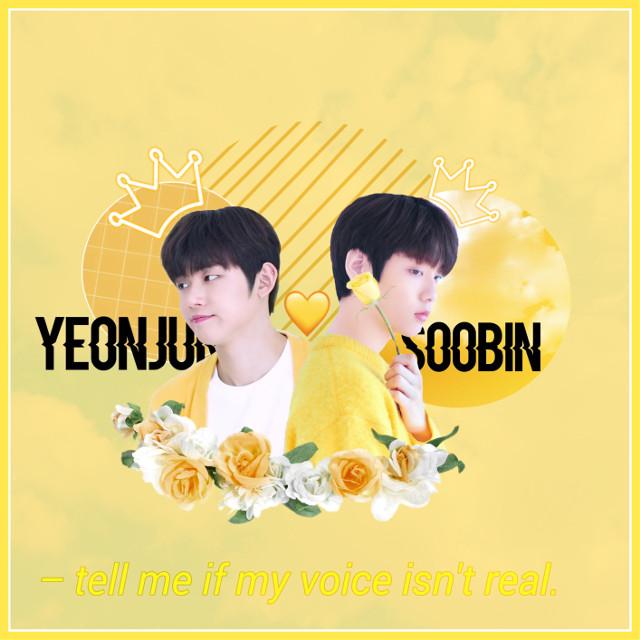 Yeonjun and Soobin edit for ya'll!!! Stan TXT~