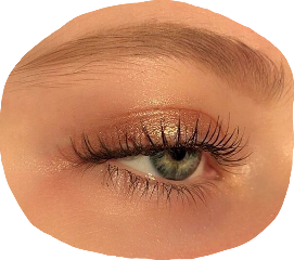 eye polyvore niche bronze aesthetic