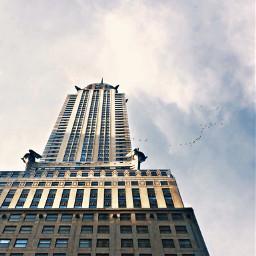 pcfacades facades freetoedit chryslerbuilding newyorkcity