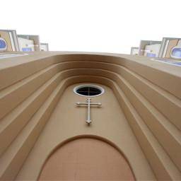 pcfacades facades detail cross church
