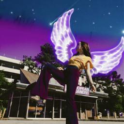 wings fly model fashion freetoedit