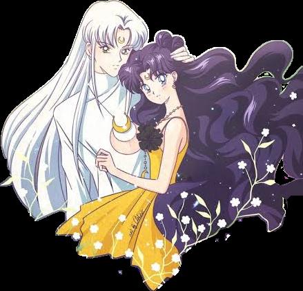 Sailormoon Luna Artemis Sticker By Paolasiom14