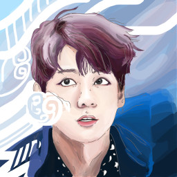 dccolorfulhair colorfulhair freetoedit jungkook bts