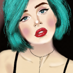 mydrawing dccolorfulhair colorfulhair