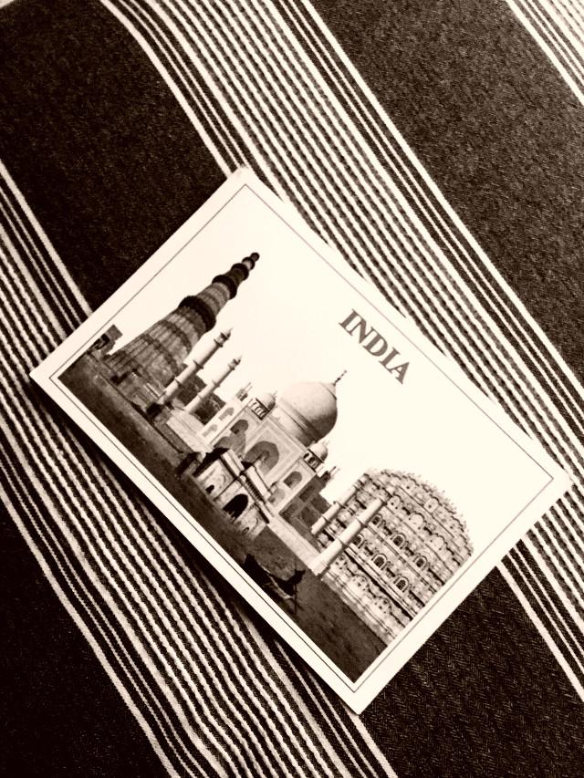#freetoedit #postcard #mail #post #photography #tajmahal #india #tourist #stripes #interesting #travel #night
