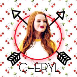 cheryl theblossoms cherylbombshell riverdale freetoedit