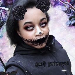 kuromi hellokitty goth pastelgoth kidcore scenecore freetoedit