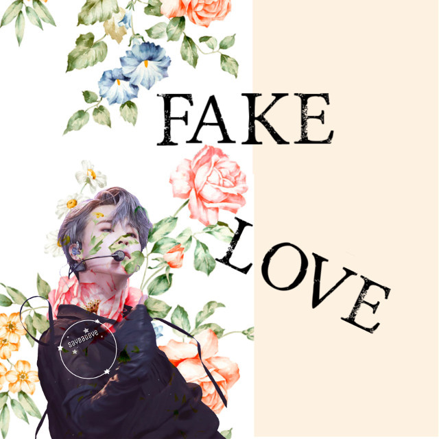 ❁ fake love  • trying this style of editing? Wish this was better  { requests closed }  ✧credits✧    ◌ jimin from @/ thuymarucho     ◌ flowers from @/ schander666   《 1/23/19 》  ↳ tags↴  #freetoedit #bts #parkjimin #jimin #bangtanboys #beyondthescene
