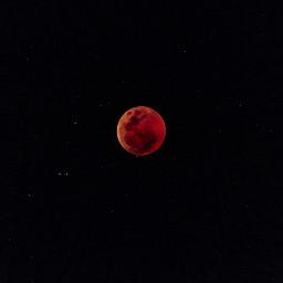 moon bloodmoon nature freetoedit