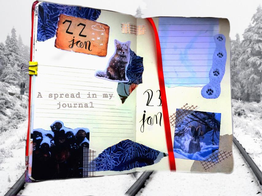 #journal #spread #creative @coolekiki