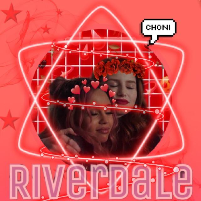 #freetoedit #choni #riverdale #riverdaleedit #cherylblossom #tonitopaz